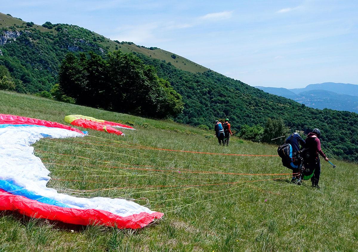 volo Parapendio Tandem Lago di Garda Brescia