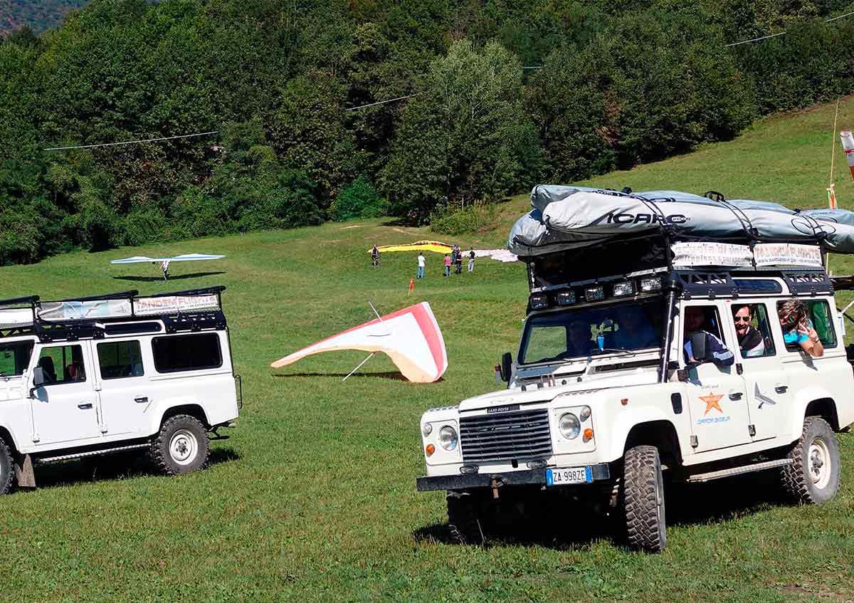 volo tandem in deltaplano sul lago di garda Brescia